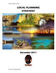 LOCAL PLANNING STRATEGY - The Western Australian Government