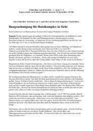 Baugenehmigung für Hotelkomplex in Sicht - Eckhard Schmidt ...