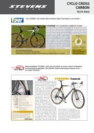 CyCLo CRoSS CARbon - Stevens