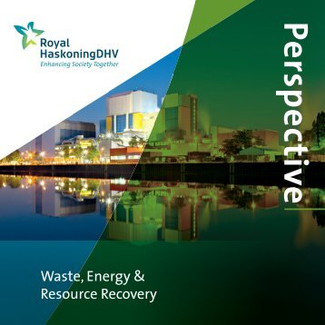 Waste, Energy & Resources brochure - Royal Haskoning in the UK
