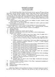 PROTOKÓŁ Nr XIX/2012 Sesji Rady Gminy Skąpe