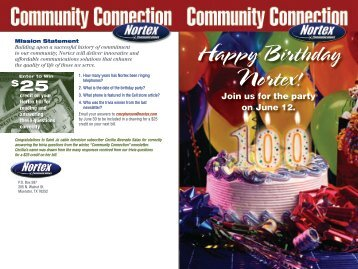 Happy Birthday Nortex! - Nortex Communications