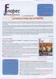 Lafeuitte d'infosde [a FNAPEC - La Semaine du Son