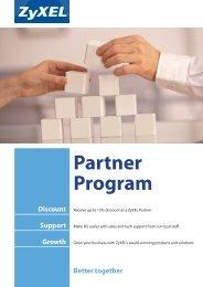 Partner Program - ZyXEL
