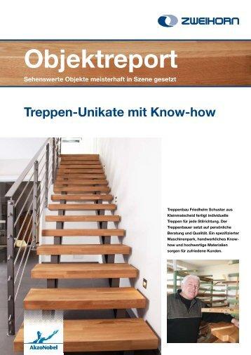 Treppen Unikate mit Knowhow - Zweihorn