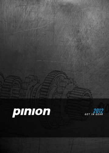 future shifting - Pinion