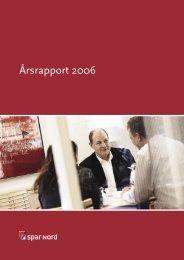 Årsrapport 2006 (PDF) - Spar Nord