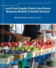 Local Food Supply Chains Use Diverse Business ... - AgEcon Search