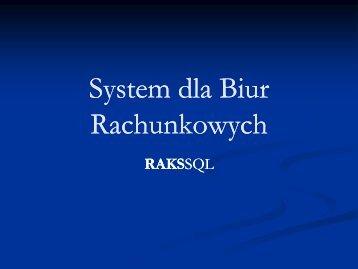 System dla Biur Rachunkowych