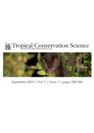 Research Article Diet and fruit choice of the brown palm civet ...