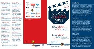 PROGRAMMA LazioCinema - Cultura Lazio