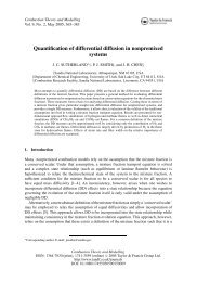 Quantification of differential diffusion in nonpremixed systems