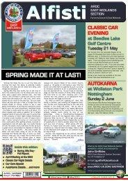 AROC EAST MIDLANDS SECTION John - Alfa Romeo Owners Club