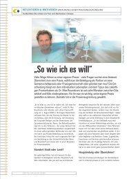"""""""So wie ich es will"""" - Dr. med. dent. Max Rosenkranz"""