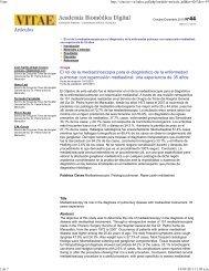 El rol de la mediastinoscopia para el diagnóstico de la enfermedad ...