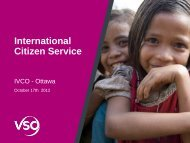 the Case of the International Citizenship Service Programme - Cuso ...