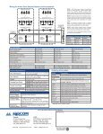 innovairflex 4-wire photoelectric duct detector d4120 - Mircom - Page 2