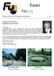 Infoblatt - CDU-Kreisverband Bonn