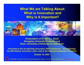 What is Innovation and Why is It Important?