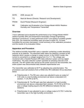 a sample report memo pdf