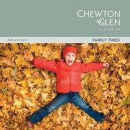 View our Family programme for Autumn half term - Chewton Glen