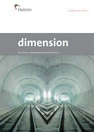 dimension 2/10 - Holcim Schweiz