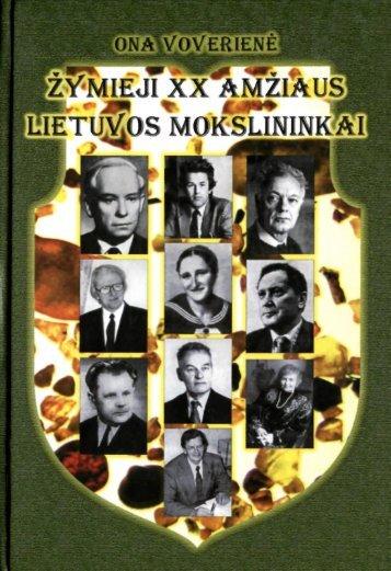 Turinys - Lietuvos mokslų akademijos biblioteka