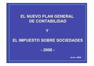 PGC / IMPUESTO SOBRE SOCIEDADES