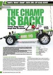 TAmIyA 'BuGGy CHAmP' 1/10TH 2WD OFF ... - The Hobby Company