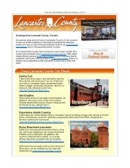 Family Fun Get Creative Experience Amish ... - Lancaster County