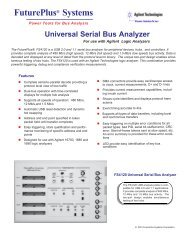 FS4120 Data Sheet - FuturePlus Systems