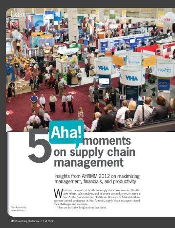 5 Aha! Moments on Supply Chain Management (pdf) - Hida