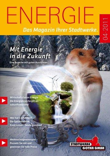 Mit Energie in die Zukunft - Stadtwerke Gotha