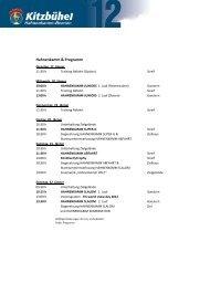 Hahnenkamm & Programm