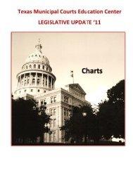 Updated Charts 2011.pdf - Texas Municipal Courts Education Center