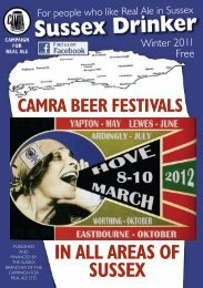 Sussex Drinker, Winter 2011 - Western Sussex CAMRA