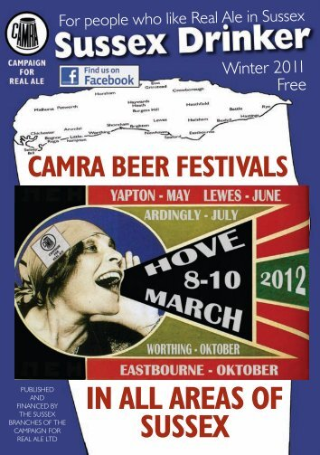 Sussex Drinker, Winter 2011 - Western Sussex CAMRA