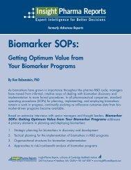 Biomarker SOPs: - Insight Pharma Reports