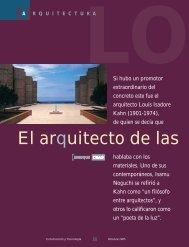 El arquitecto de las tres vidas