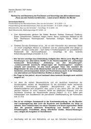100126 Hannes Stockert - Recherche und Bewertung Aktionsbündnis