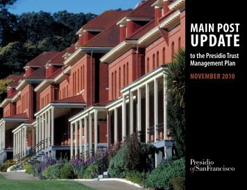 Final Main Post Update - Presidio Trust