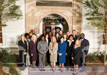 Class of 2008-2009 - Louisiana Community and Technical College ...