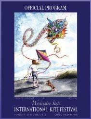 OFFICIAL PROGRAM - Washington State International Kite Festival