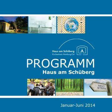 Programm 1. Halbjahr 2014 - Haus am Schüberg