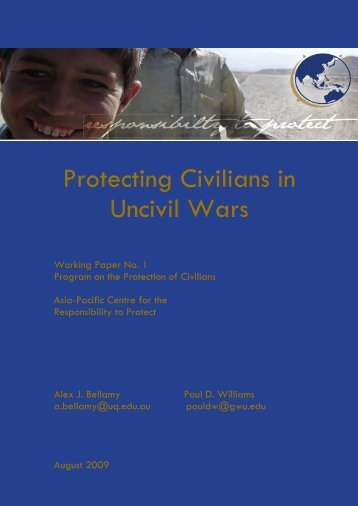 Protecting Civilians in Uncivil Wars - Polity