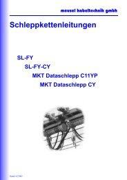 Schleppkettenleitungen - Meusel Kabeltechnik GmbH