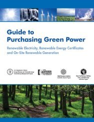 Guide to Purchasing Green Power - Green Building Certification ...