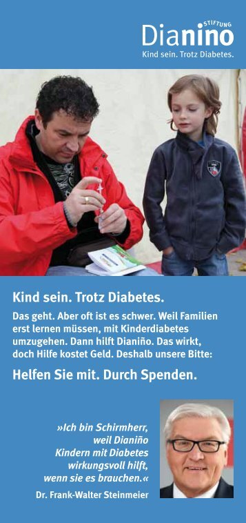 Flyer - Stiftung Dianino