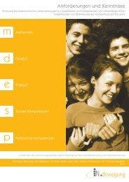 Folder Kompetenzerhebung (PDF 765 KB)