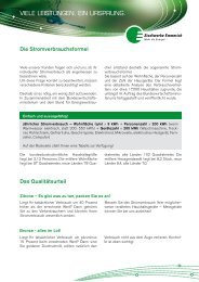 Kundeninformation - Stadtwerke Emmerich